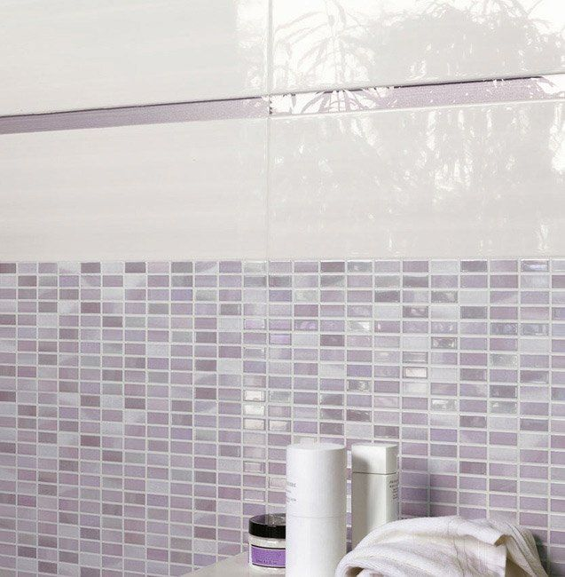 Tiles: Line Light by Ceramica Sant\'agostino