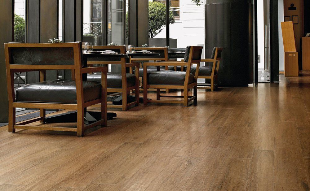 Tiles: Line S.Wood by Ceramica Sant\'agostino
