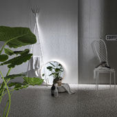 Collezione Le Corbusier - Beton Blanc e Beton Gris