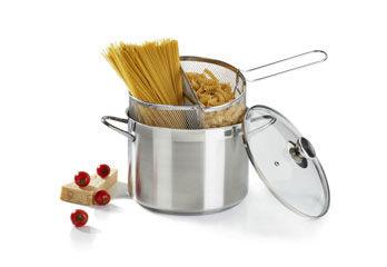 Spaghettiera Doppio Cestello