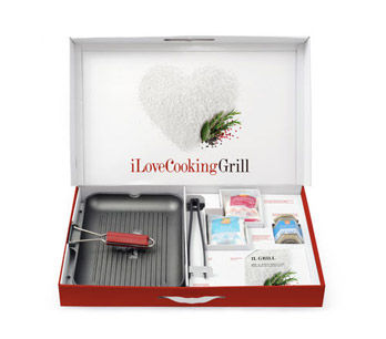 Set iLoveCooking Grill