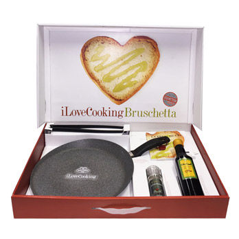 Set iLoveCooking Bruschetta Granitium
