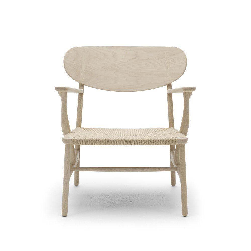 carl hansen s n kleine sessel kleiner sessel ch22. Black Bedroom Furniture Sets. Home Design Ideas