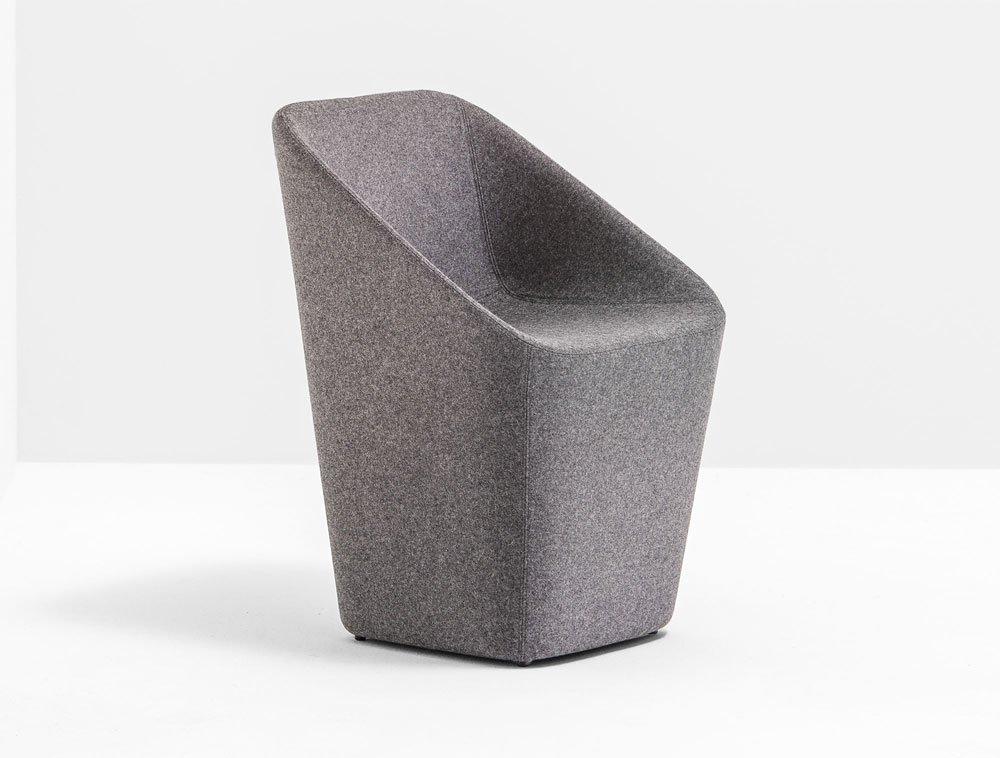 Pedrali kleine sessel kleiner sessel log designbest for Kleine ledersessel