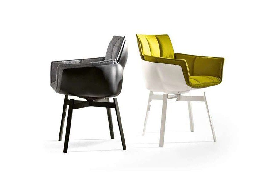 b b italia kleine sessel kleiner sessel husk b designbest. Black Bedroom Furniture Sets. Home Design Ideas