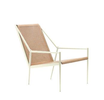 Petit fauteuil Acciaio Lounge