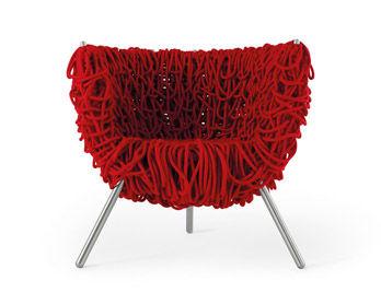 Kleiner Sessel Vermelha