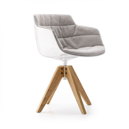 Small armchair Flow Slim