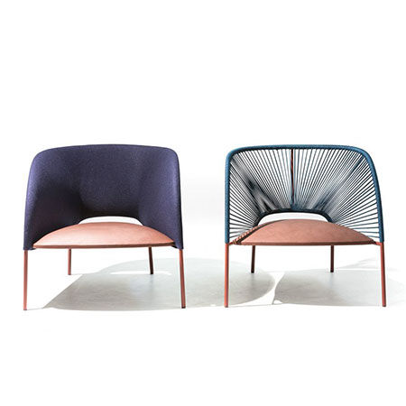 Small armchair Yumi by Moroso