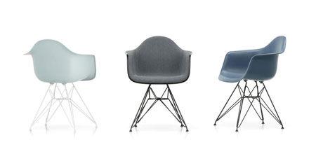 Petit fauteuil Eames Plastic DAR