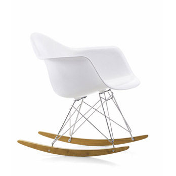 Kleiner Sessel Eames Plastic RAR