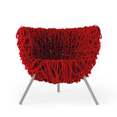 Petit fauteuil Vermelha