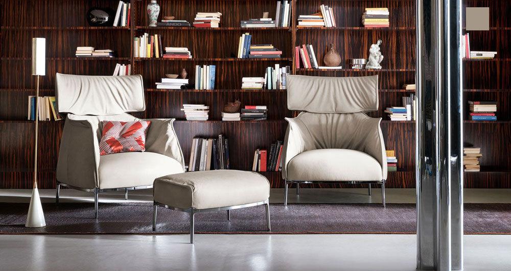 Poltrona Frau Sessel Sessel Archibald | Designbest