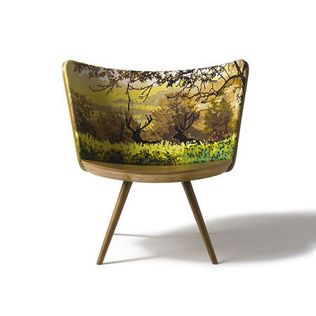 Armchair Embroidery