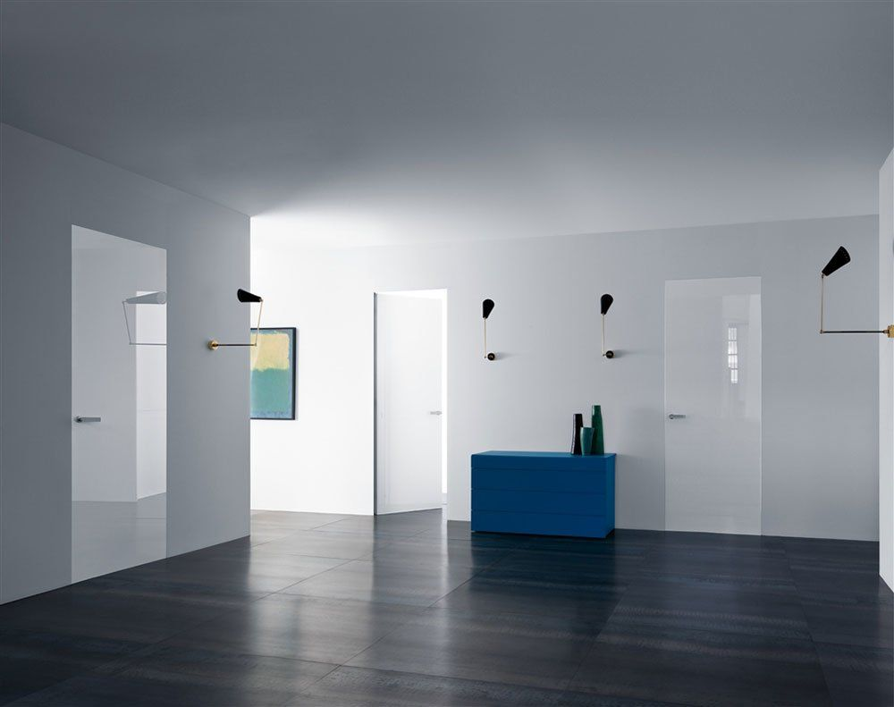 Hinged Doors: Door Rasomuro 55S by Lualdi Porte