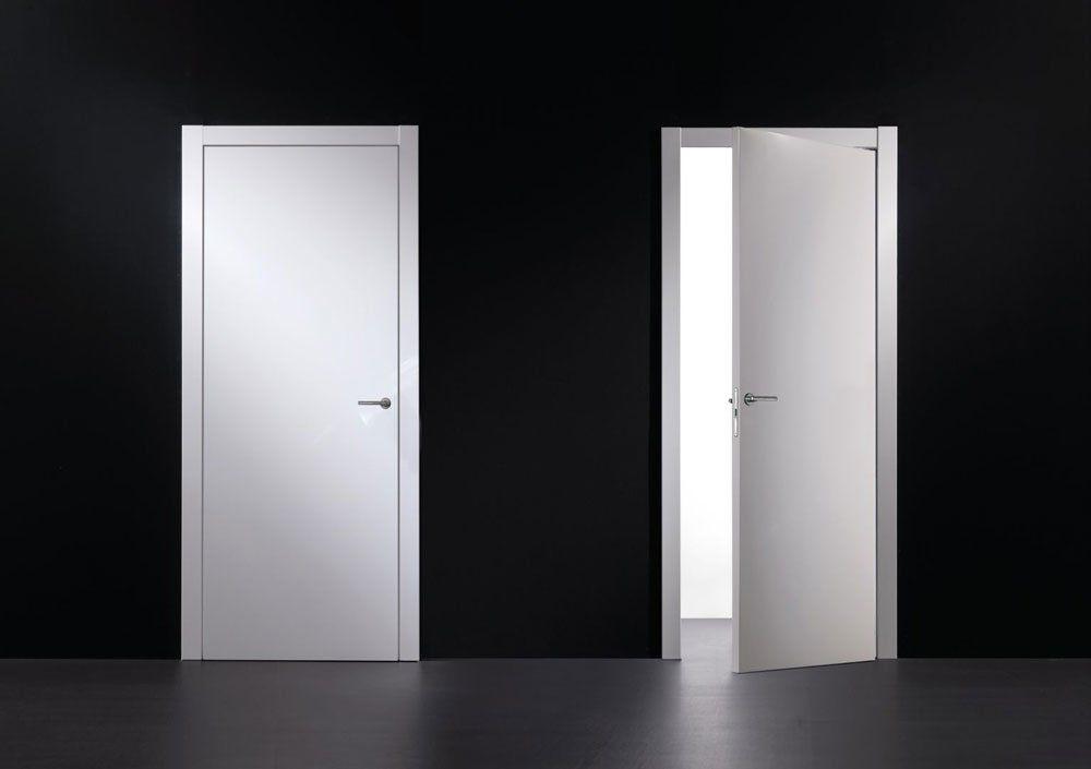Hinged Doors: Door Radarnuova Tuttovetro by Tre-P & Tre-Più