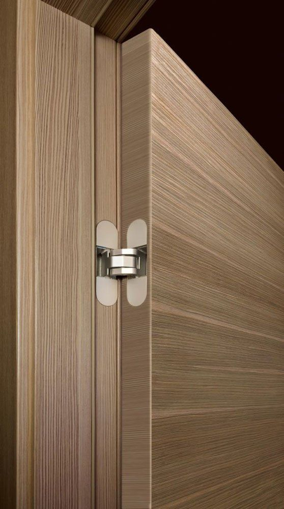 Hinged Doors: Door Radar Wood Scultura by Tre-P & Tre-Più