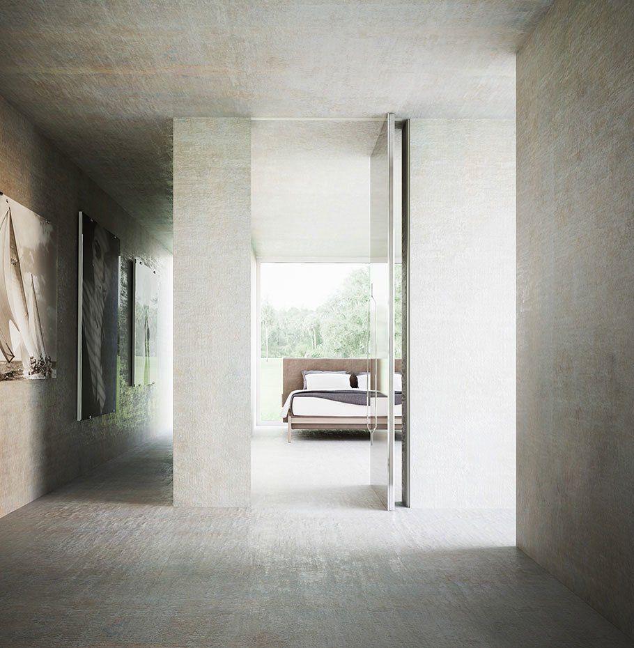 Porta Brezza - Bilico Verticale da Linvisibile | Designbest