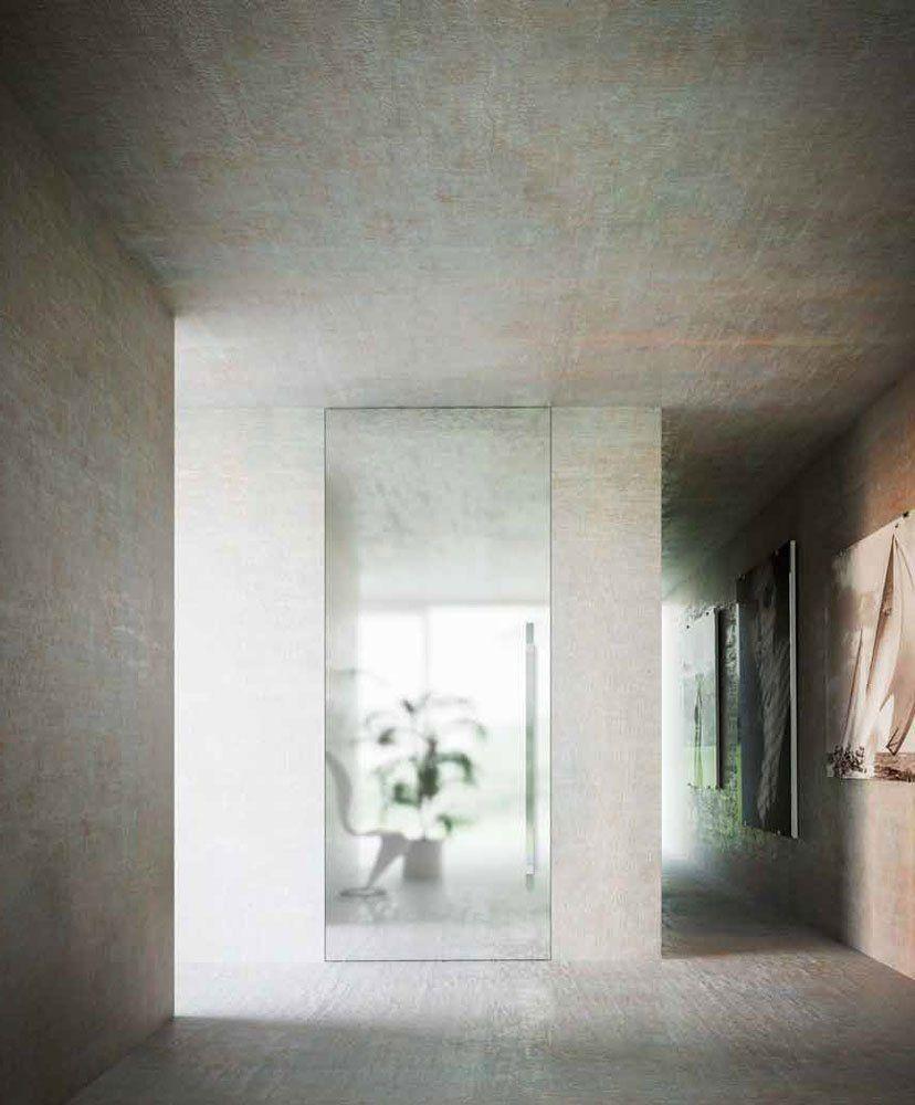 Porta Brezza - Bilico Verticale [D] da Linvisibile | Designbest