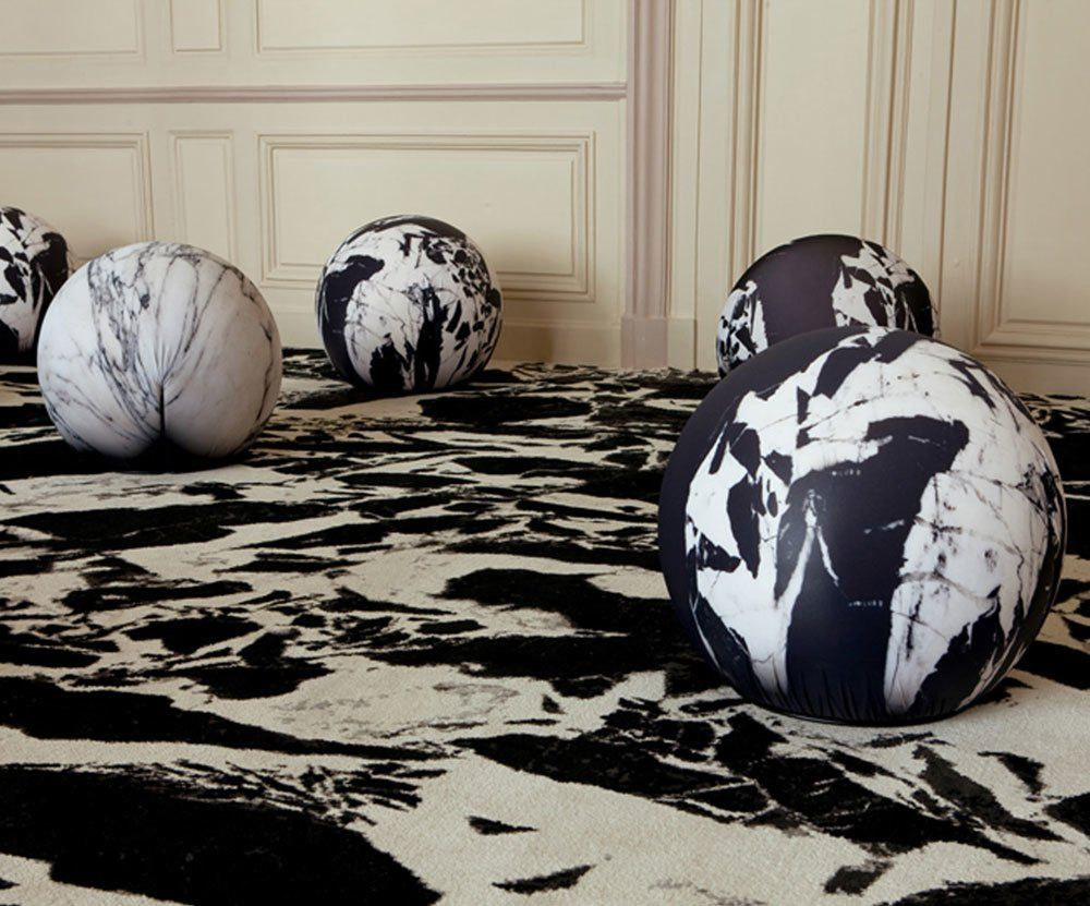 find store & Ottomans: Pouf Tattoo by Baleri Italia