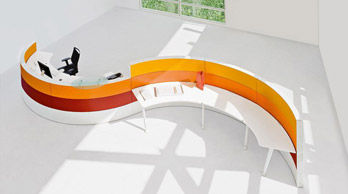 Reception Desk Onda