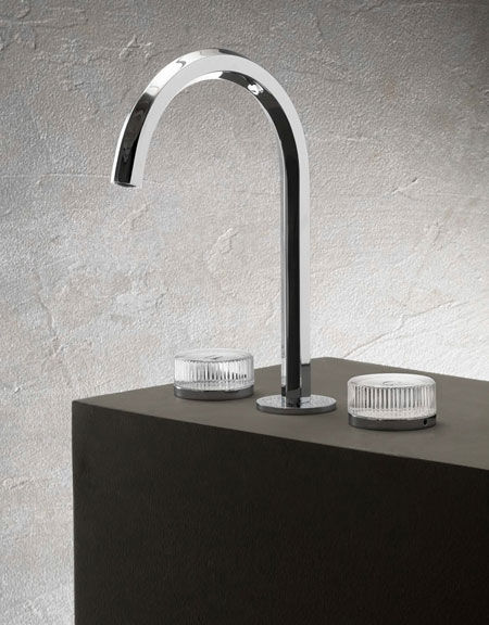 Tap Venezia Glass Handles by Fantini