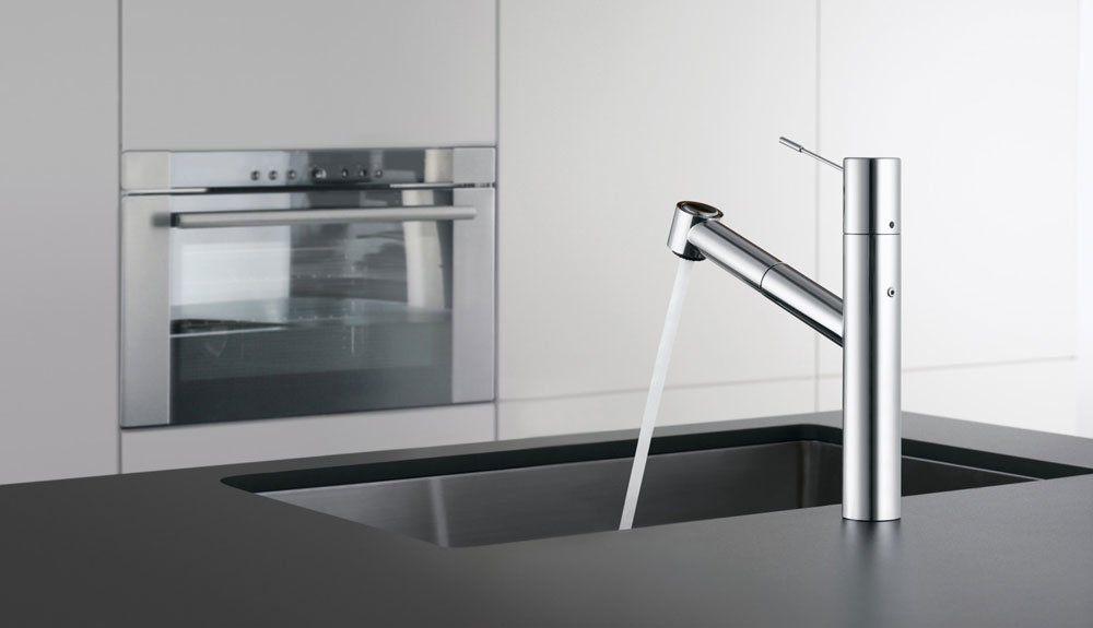 kwc armaturen f r die k che mischbatterie kwc ono designbest. Black Bedroom Furniture Sets. Home Design Ideas