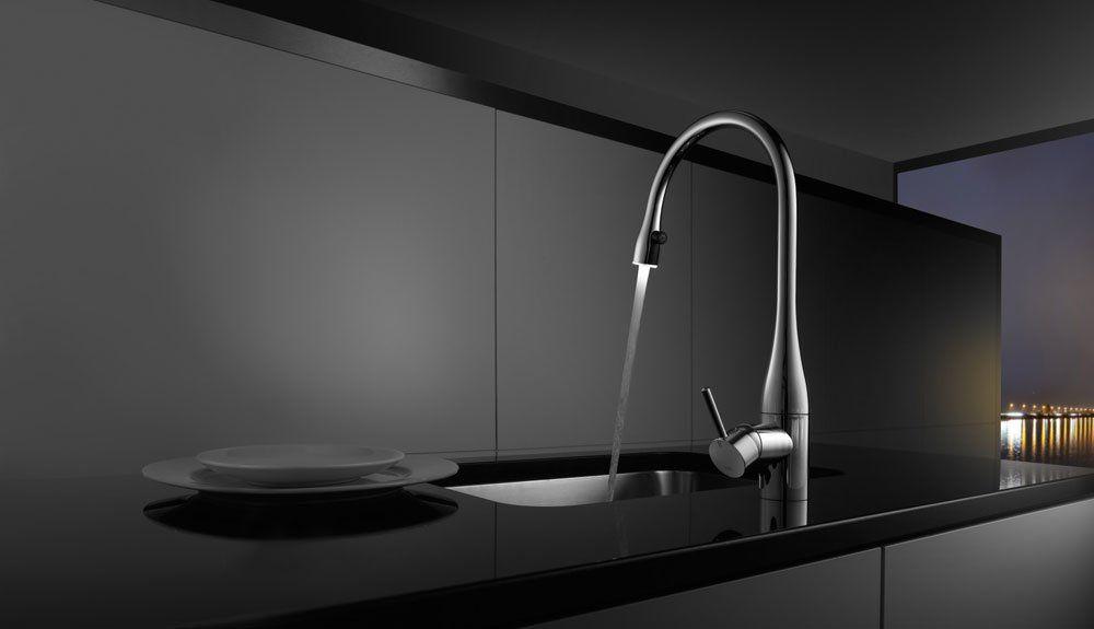 kwc armaturen f r die k che mischbatterie kwc eve designbest. Black Bedroom Furniture Sets. Home Design Ideas