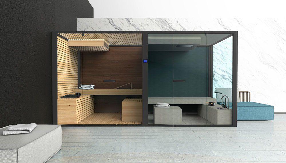 Bagno turco sauna chillout da glass 1989 designbest