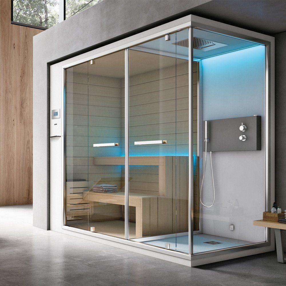 Sauna + Bagno Turco Ethos C [B] da Hafro | Designbest