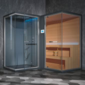 Sauna + bagno turco Ethos L