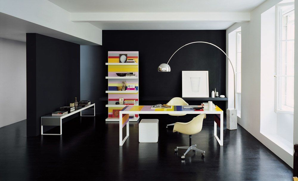 fantoni regale und b cherschr nke regal stripes designbest. Black Bedroom Furniture Sets. Home Design Ideas