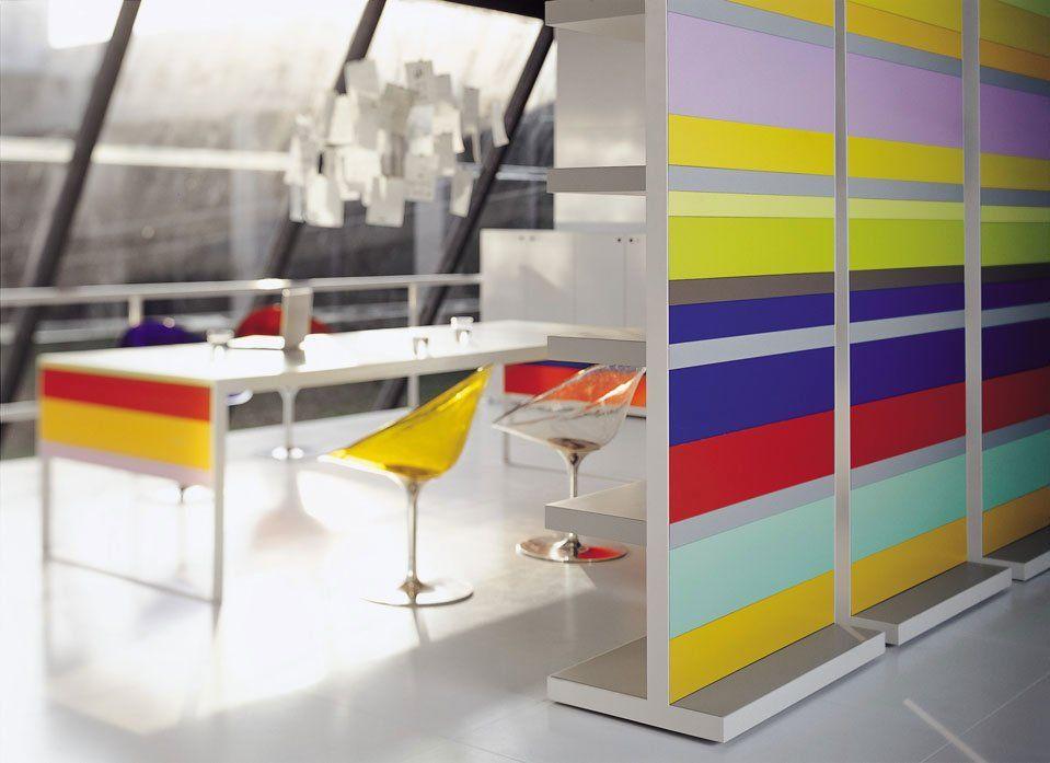 fantoni regale und b cherschr nke regal stripes designbest. Black Bedroom Furniture Sets. Home Design Ideas