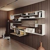 Libreria Home Office LagoLinea