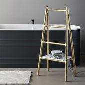 Heated Towel Rack Scaletta Gold