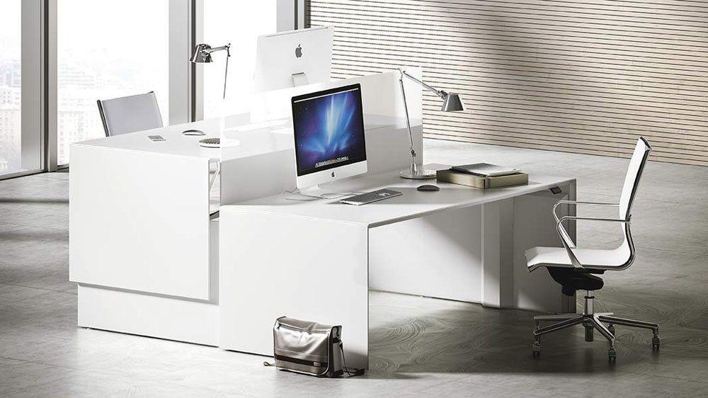 Fantoni Schreibtische Und Arbeitstische Schreibtisch Quaranta5 B