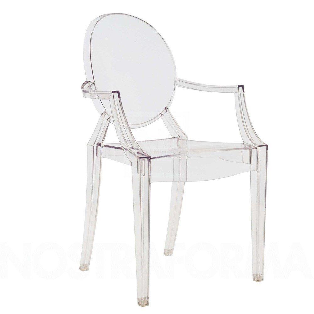 Philippe Starck Sedie.Sedia Louis Ghost A