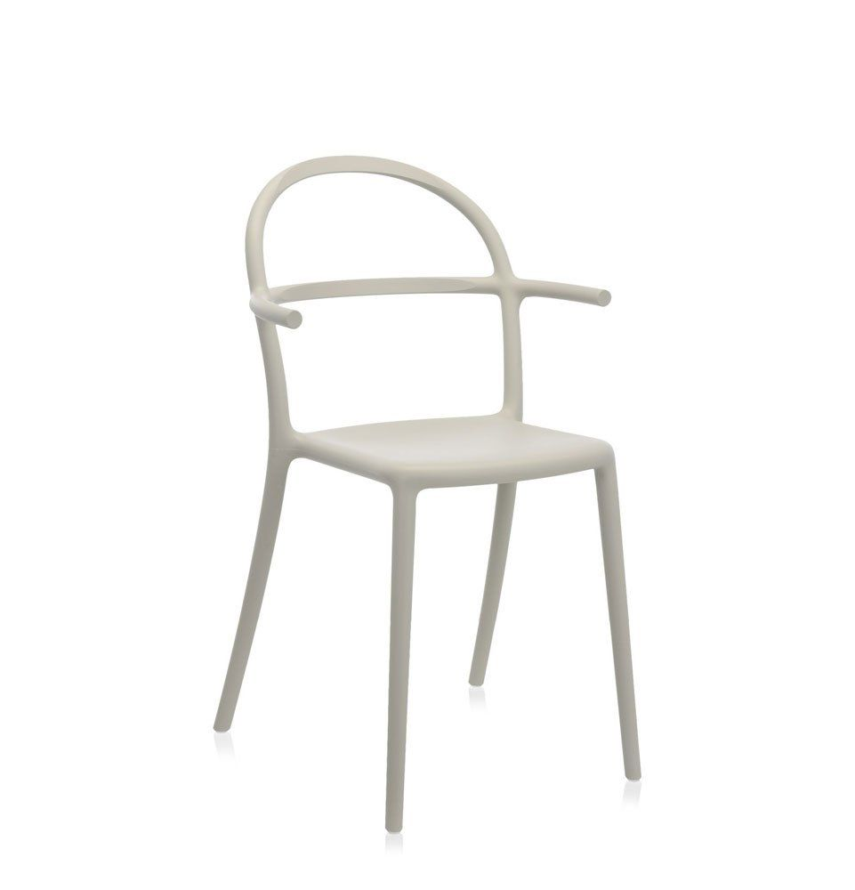Kartell Masters Chair Pack Of 2.Philippe Stark Grey Masters Chair ...
