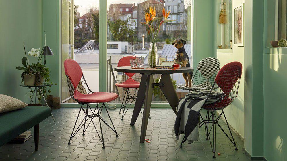 Vitra stühle stuhl wire chair dkr designbest