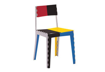 Sedia Stitch Chair