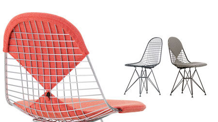 Chaise Wire Chair Dkr