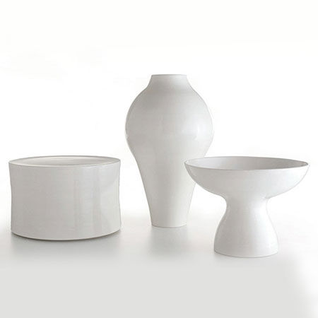 Hocker White Collection