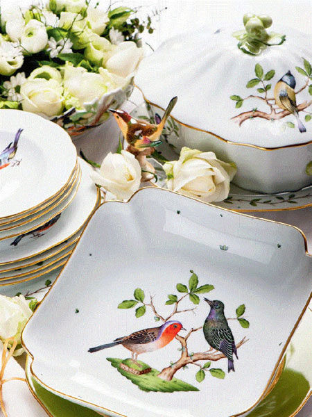 Servizio Rothschild oiseaux