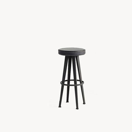 Sgabello Bar Stud High Stool