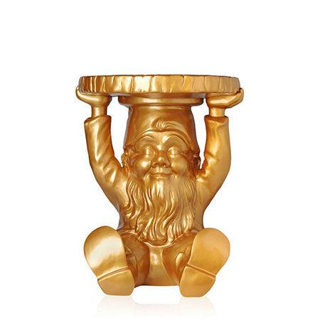 Sgabello Attila Gold