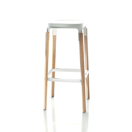 Stool Steelwood