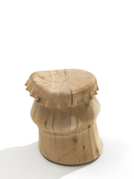Stool Bottle Cap