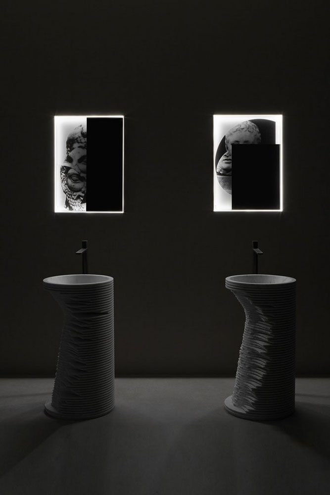 Antonio Lupi Specchi Bagno.Specchio Collage