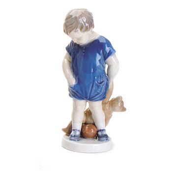 Statuetta Bimbo con orsetto