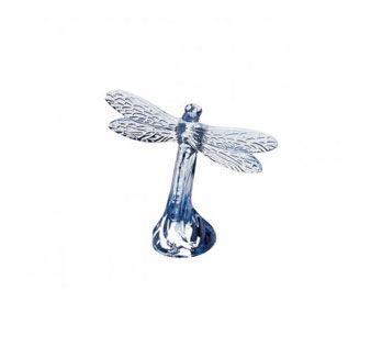 Statuetta Libellule Lustre Bleu